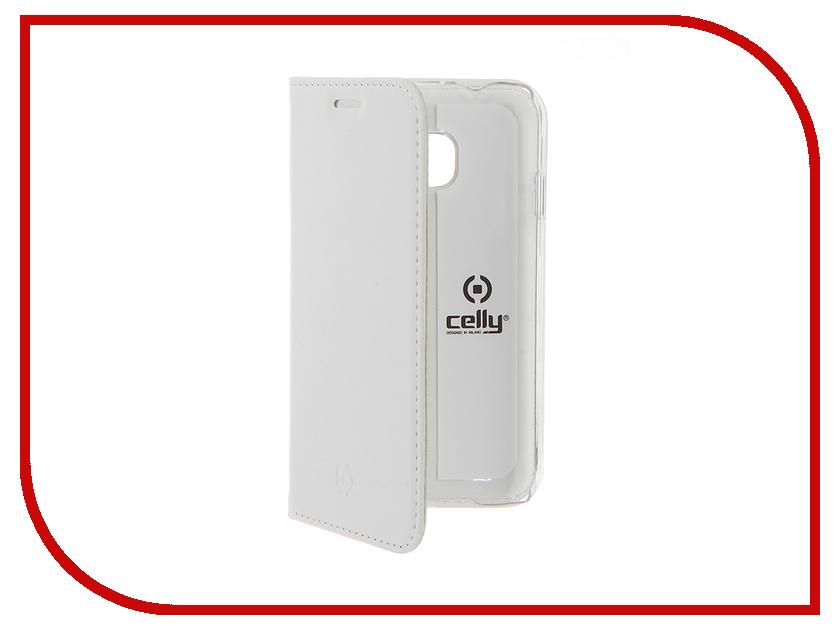 Аксессуар Чехол Samsung Galaxy J1 Mini 2016 Celly Air Case White AIR553WH<br>