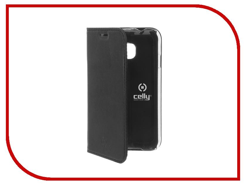Аксессуар Чехол Samsung Galaxy J1 Mini 2016 Celly Air Case Black AIR553BK<br>