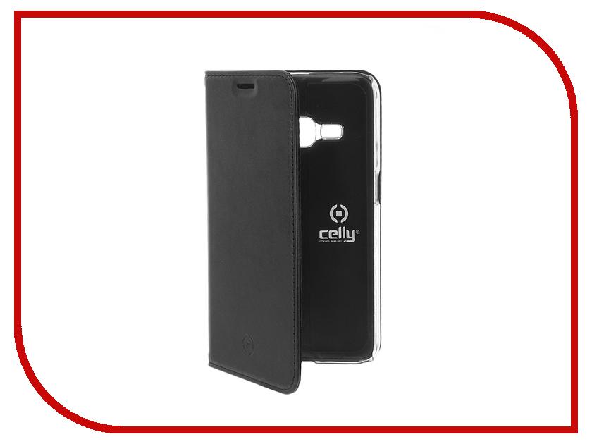 Аксессуар Чехол Samsung Galaxy J1 2016 Celly Air Case Black AIR552BK