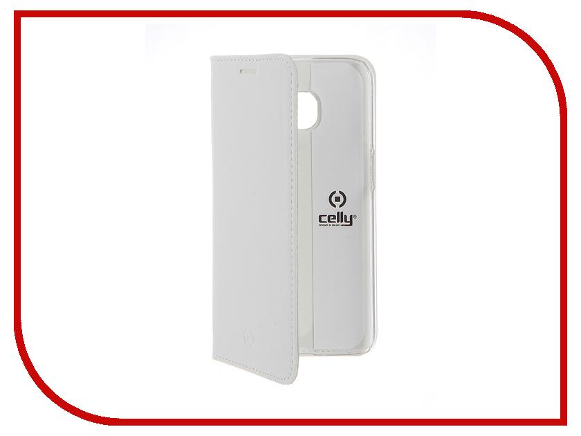 Аксессуар Чехол Samsung Galaxy S7 Celly Air Case White AIR590WH