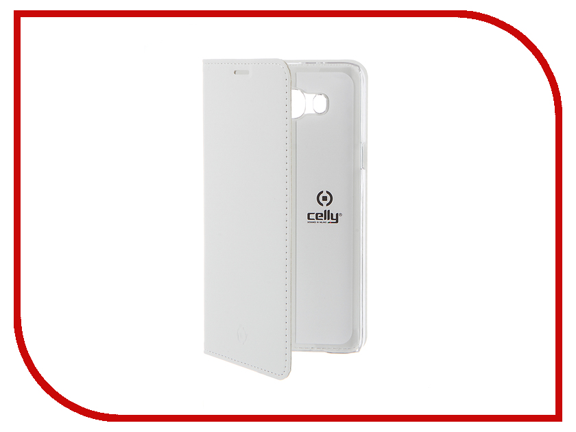 Аксессуар Чехол Samsung Galaxy J7 2016 Celly Air Case White AIR556WH<br>