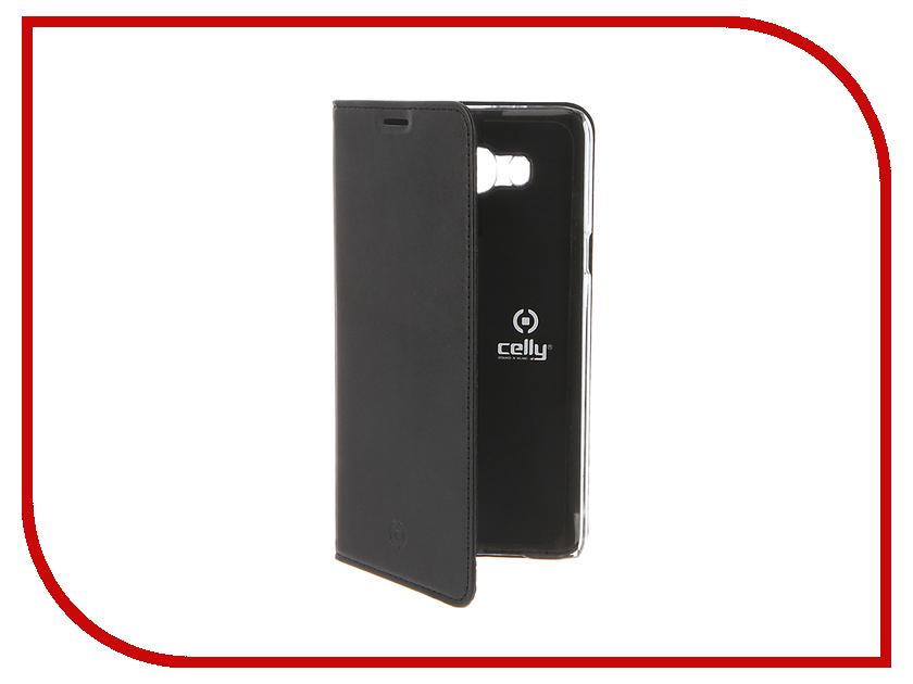 Аксессуар Чехол Samsung Galaxy J7 2016 Celly Air Case Black AIR556BK