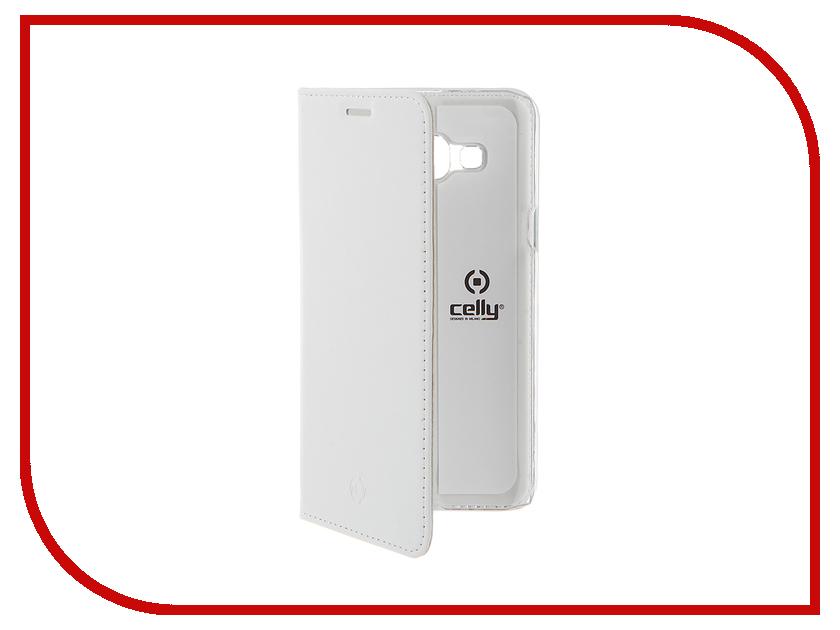 Аксессуар Чехол Samsung Galaxy J3 2016 Celly Air Case White AIR555WH