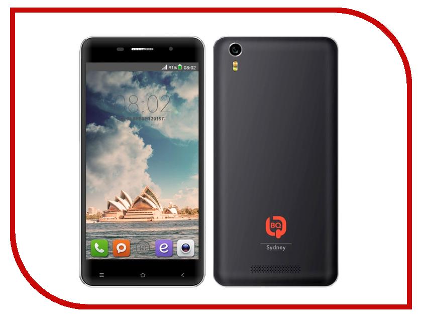 Сотовый телефон BQ BQS-5009 Sydney Black