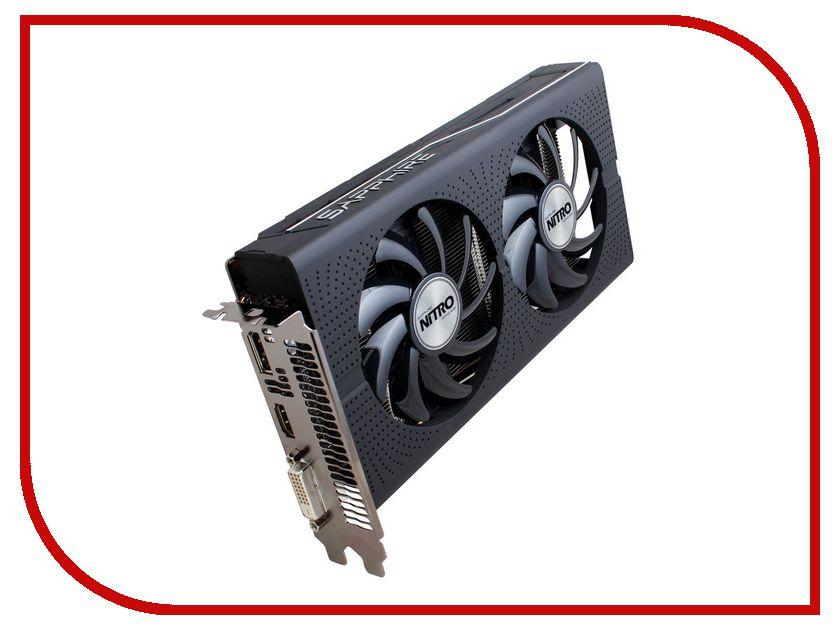 Видеокарта Sapphire Nitro Radeon RX 460 4G 1175Mhz PCI-E 3.0 4096Mb 7000Mhz 128 bit DVI HDMI 11257-02-20G<br>
