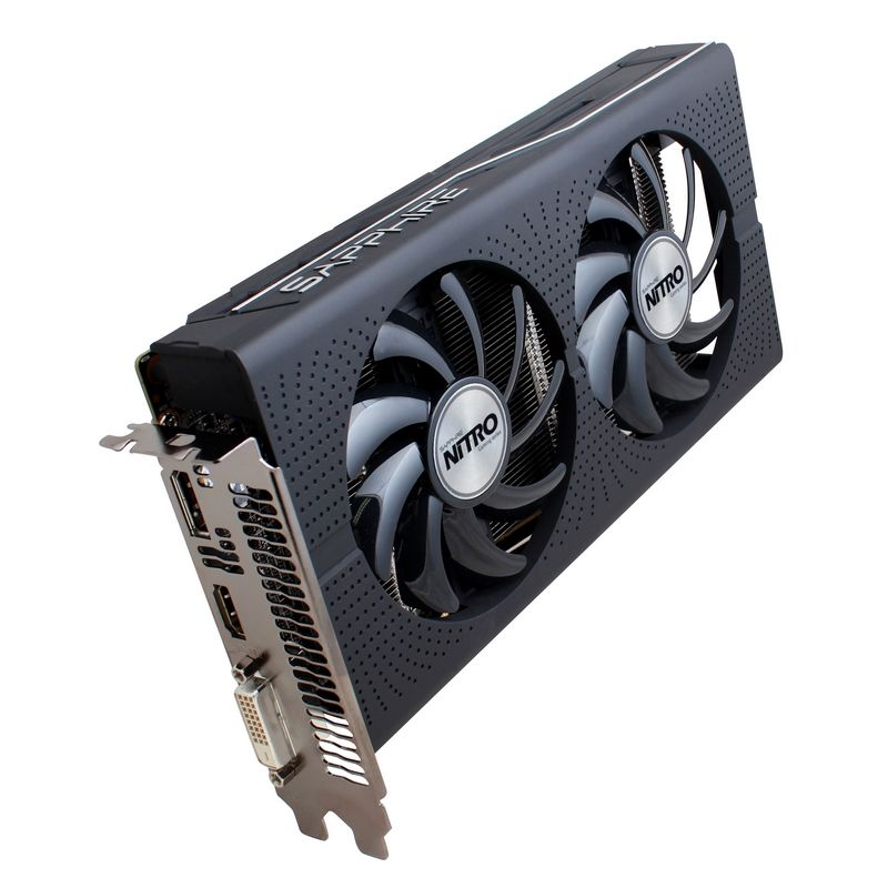 Видеокарта Sapphire Nitro Radeon RX 460 4G 1175Mhz PCI-E 3.0 4096Mb 7000Mhz 128 bit DVI HDMI 11257-02-20G