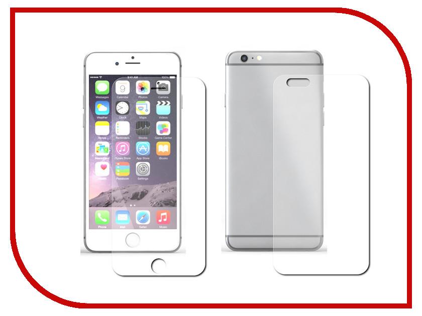 Аксессуар Защитная пленка Protect для iPhone 6 4.7-inch Front&Back глянцевая