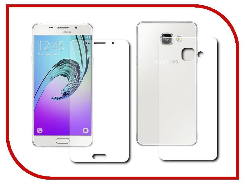 Аксессуар Защитная пленка Samsung Galaxy A3 2016 Front&amp;Back Protect глянцевая<br>