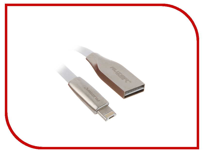Аксессуар AUZER IDroid USB to Lightning 8 pin and Android AC-I2 2А White<br>