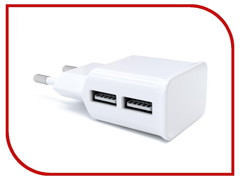 Зарядное устройство Red Line NT-2A 2xUSB 2.1A White