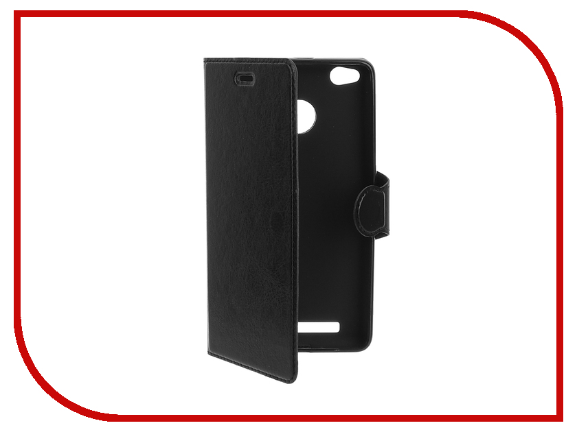 Аксессуар Чехол Red Line for Xiaomi Redmi 3 / 3 Pro Book Type Black<br>