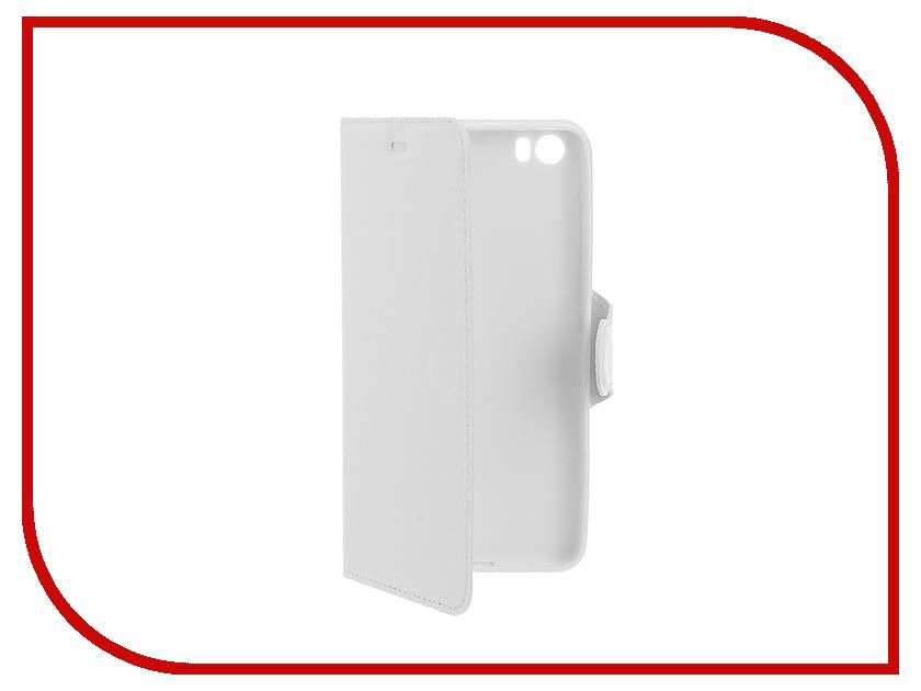 Аксессуар Чехол Xiaomi Mi5 Red Line Book Type White