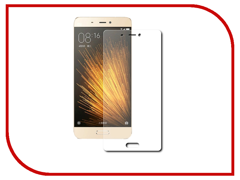 Аксессуар Защитная пленка Xiaomi Mi5 (5.15) Red Line матовая<br>
