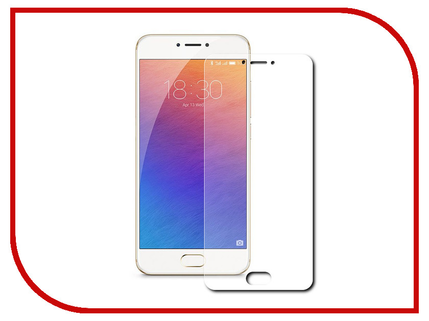 Аксессуар Защитная пленка Meizu Pro 6 (5.2) Red Line<br>