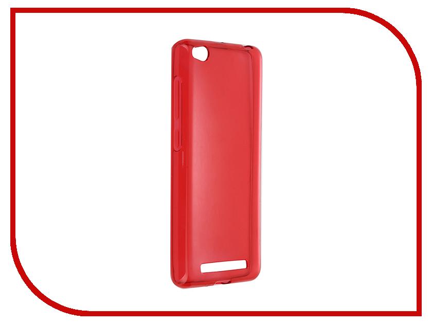 Аксессуар Чехол iBox for Xiaomi Redmi 3 / 3 Pro Crystal Red<br>