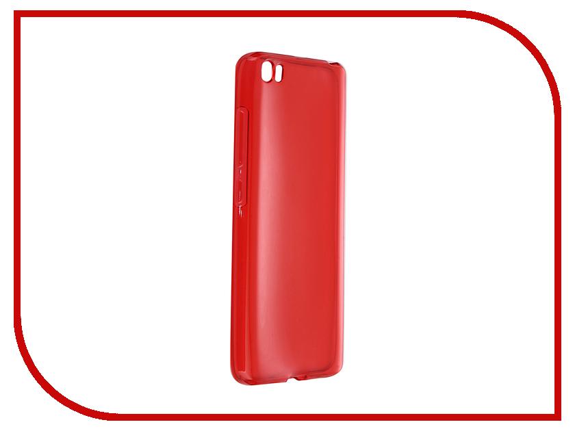 Аксессуар Чехол Xiaomi Mi5 iBox Crystal Red<br>