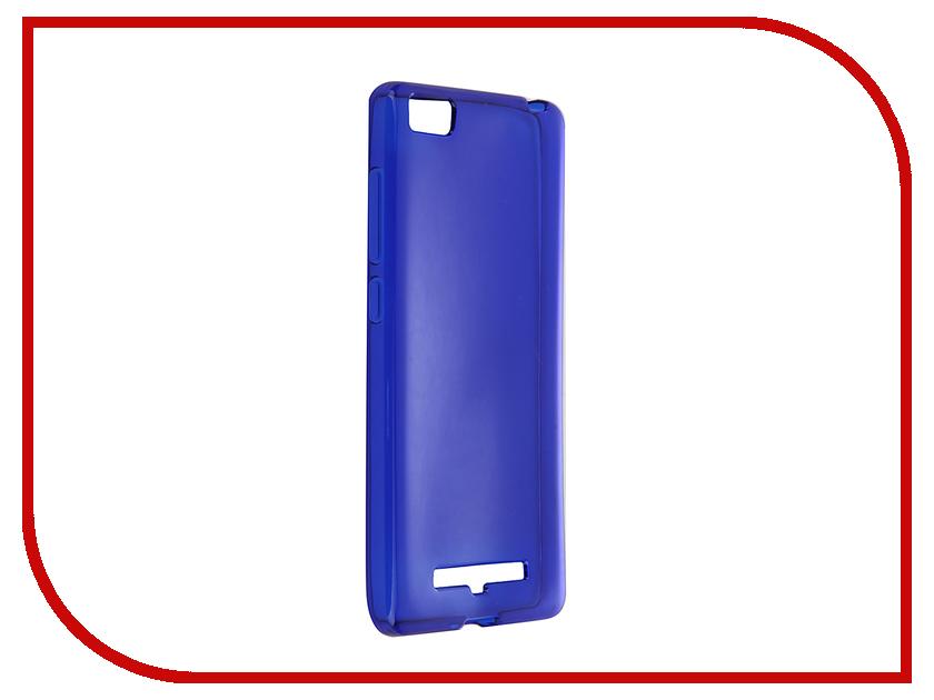 Аксессуар Чехол Xiaomi Mi4c / Mi4i iBox Crystal Blue<br>