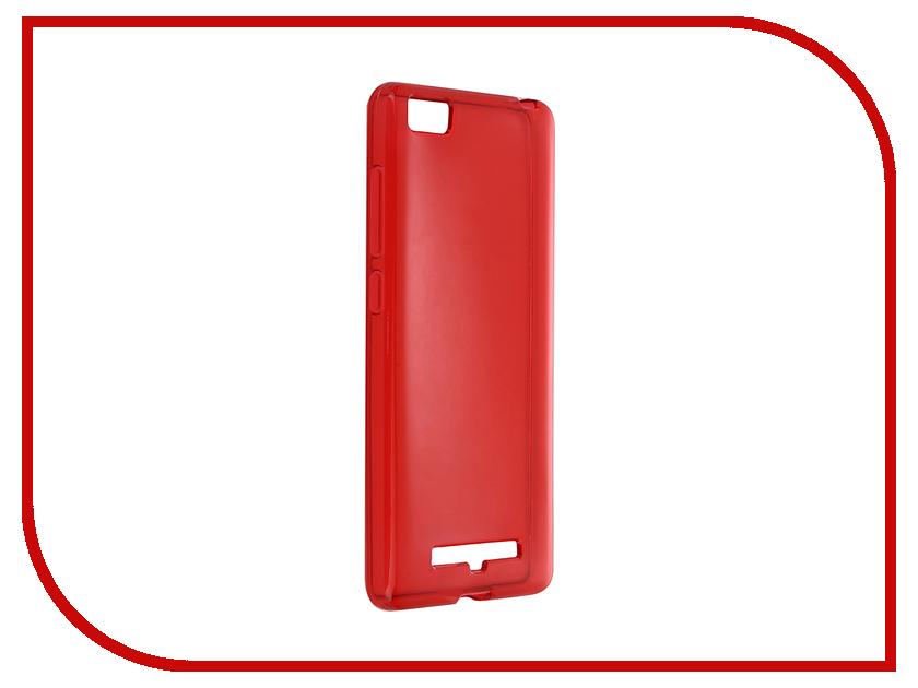 Аксессуар Чехол Xiaomi Mi4c / Mi4i iBox Crystal Red<br>