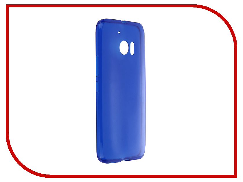 Аксессуар Чехол HTC One M10 / Lifestyle iBox Crystal Blue<br>