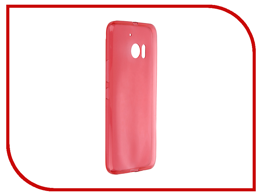 Аксессуар Чехол HTC One M10 / Lifestyle iBox Crystal Red