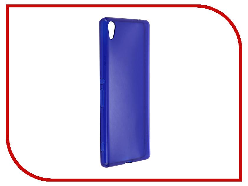 Аксессуар Чехол Sony Xperia XA Ultra iBox Crystal Blue аксессуар чехол sony xperia xa ultra ibox crystal grey