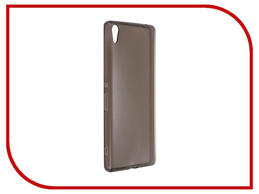 Аксессуар Чехол Sony Xperia XA Ultra iBox Crystal Grey аксессуар чехол htc desire 825 ibox crystal grey