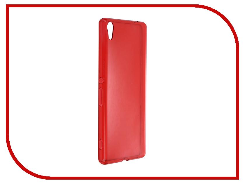 Аксессуар Чехол Sony Xperia XA Ultra iBox Crystal Red