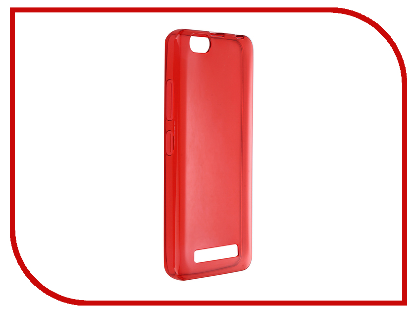 Аксессуар Чехол Lenovo Vibe C A2020 iBox Crystal Red