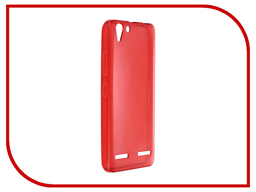 Аксессуар Чехол Lenovo Vibe K5 / K5 Pro A6020 iBox Crystal Red