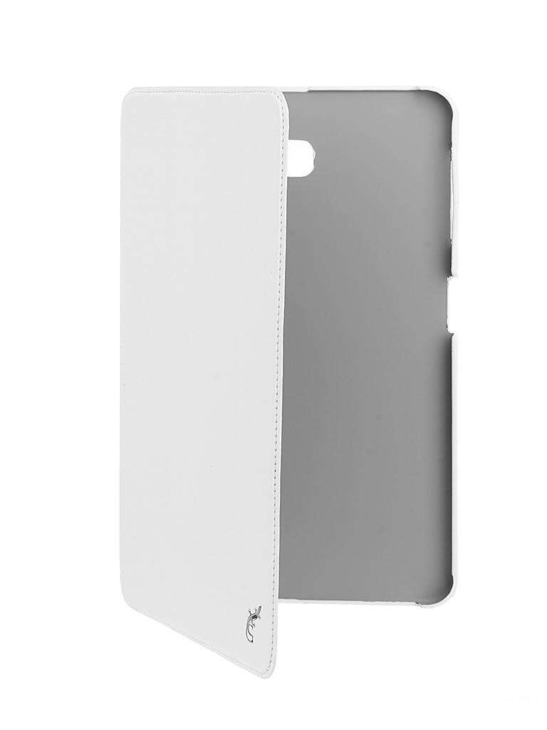 Аксессуар Чехол G-Case для Samsung Galaxy Tab A 10.1 Slim Premium White GG-728 аксессуар чехол fly fs506 cirrus 3 gecko white gg f flyfs506 wh