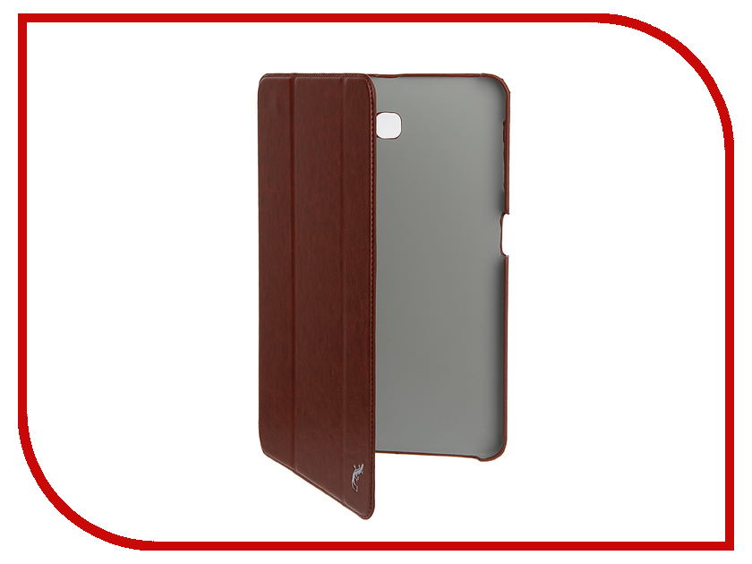 Аксессуар Чехол для Samsung Galaxy Tab A 10.1 G-Case Slim Premium Brown GG-729