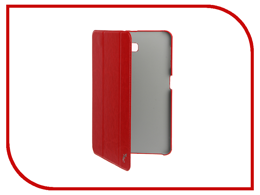 Аксессуар Чехол для Samsung Galaxy Tab A 10.1 G-Case Slim Premium Red GG-730