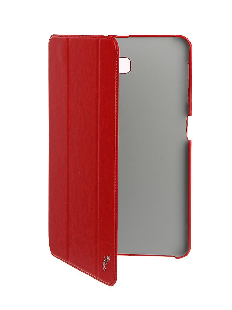 Чехол G-Case для Samsung Galaxy Tab A 10.1 Slim Premium Red GG-730 чехол g case для samsung galaxy tab s6 10 5 sm t860 sm t865 slim premium black gg 1166