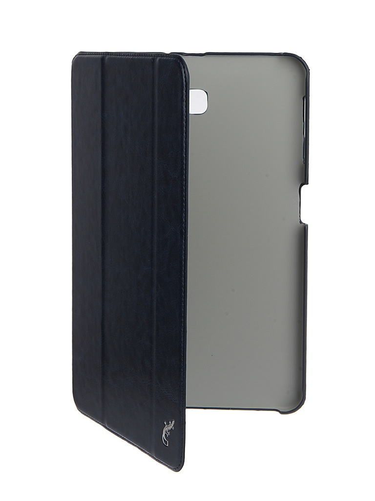 Аксессуар Чехол G-Case для Samsung Galaxy Tab A 10.1 Slim Premium Dark Blue GG-731 g case slim premium чехол для samsung galaxy note 3 blue