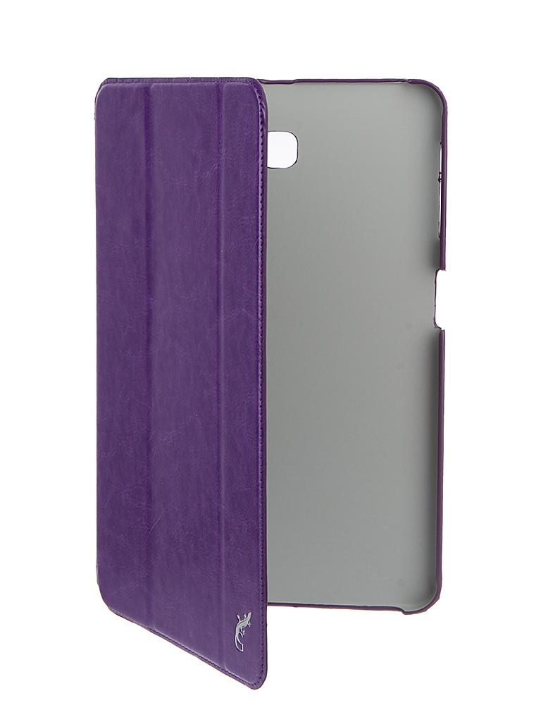 Аксессуар Чехол G-Case для Samsung Galaxy Tab A 10.1 Slim Premium Violet GG-733 аксессуар чехол флип fly fs551 nimbus 4 gecko violet gg f flyfs551 vio