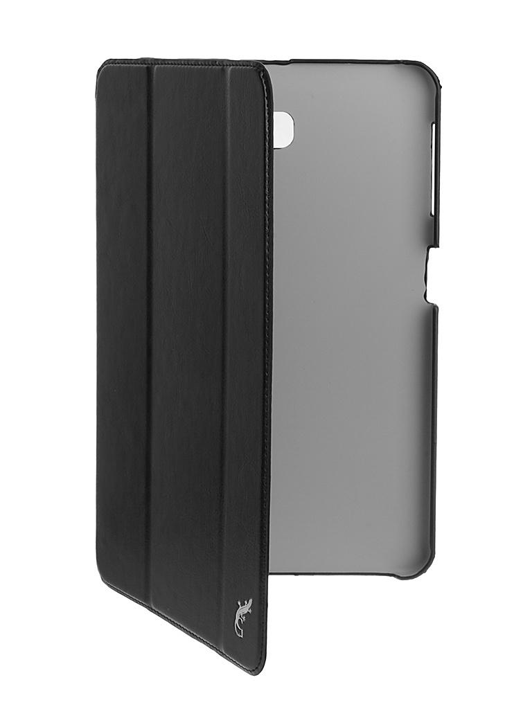 Аксессуар Чехол G-Case для Samsung Galaxy Tab A 10.1 Slim Premium Black GG-734 аксессуар чехол флип micromax e313 canvas xpress 2 gecko white gg f mice313 wh