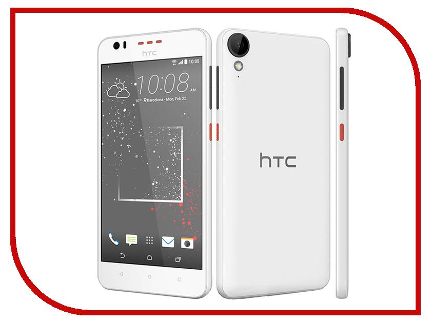 Сотовый телефон HTC Desire 825 Dual Sim Stratus White<br>