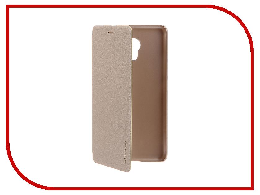 Аксессуар Чехол Meizu M3s Mini Nillkin FlipCover Gold NLK-874004Y0487<br>