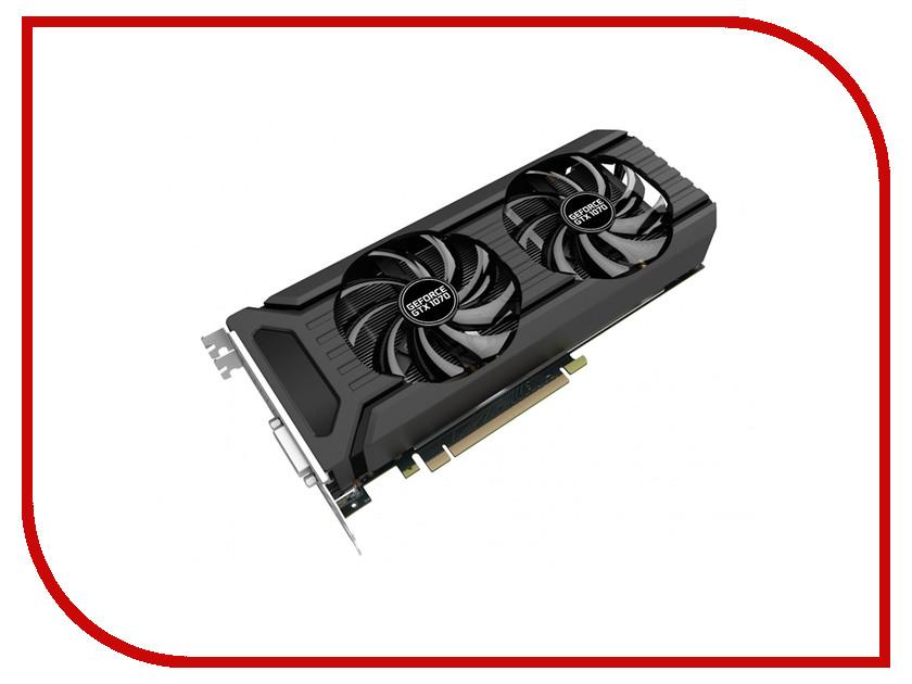 Видеокарты NE51070015P2-1043D  Видеокарта Palit GeForce GTX 1070 Dual 1506Mhz PCI-E 3.0 8192Mb 8000Mhz 256 bit HDMI NE51070015P2-1043D