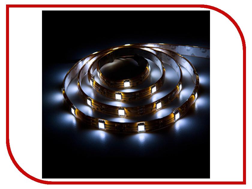 Светодиодная лента Feron 30SMD (5050) 12V 7.2W 5m CW LS607 27707<br>