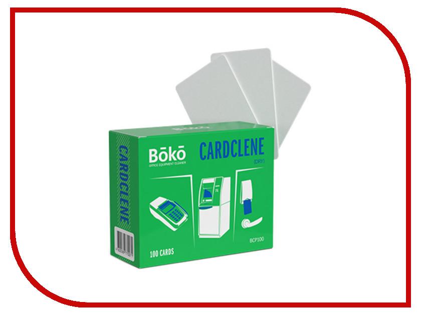 Аксессуар Boko Cardclene BCP100 Сухие простые чистящие карты