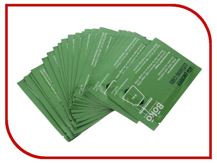 Аксессуар Boko CleanCardATM BCE020 Кодированные чистящие карты с пропиткой<br>