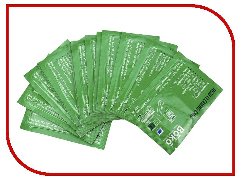 Аксессуар Boko BCP020 Простые чистящие карты с пропиткой<br>