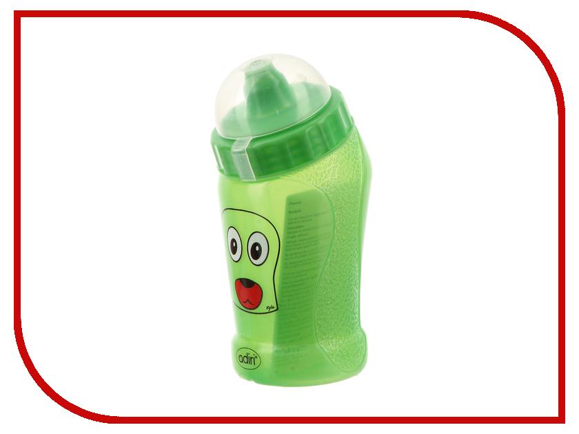 Бутылочка Adiri Dog 290ml Green AD012GR-360C