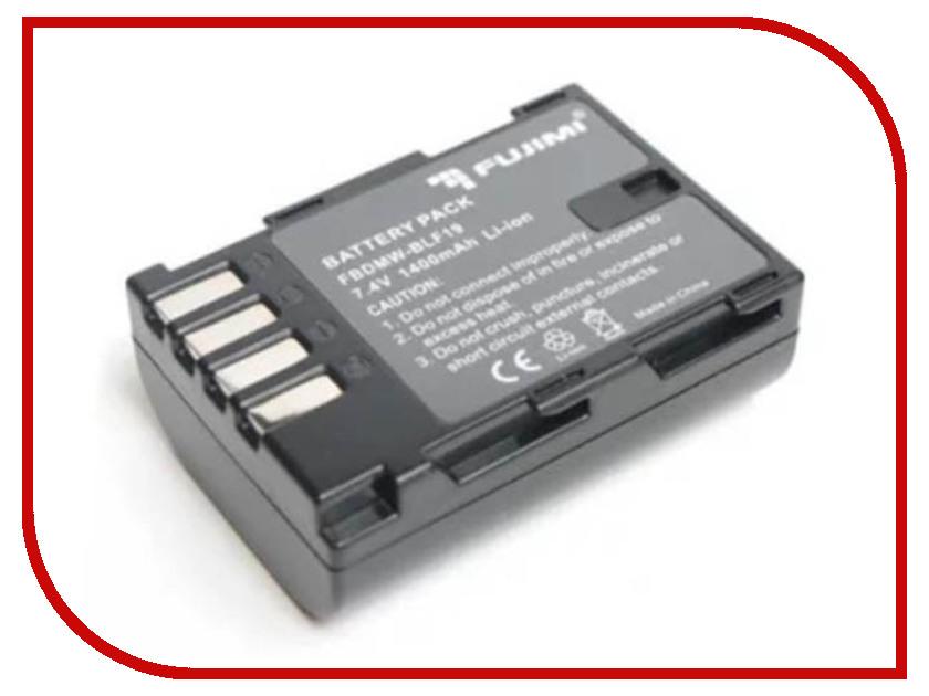 Аккумулятор Fujimi FBDMW-BLF19 1219 2pcs 1400mah dmw blc12 dmw blc12e dmcblc12 blc12 battery