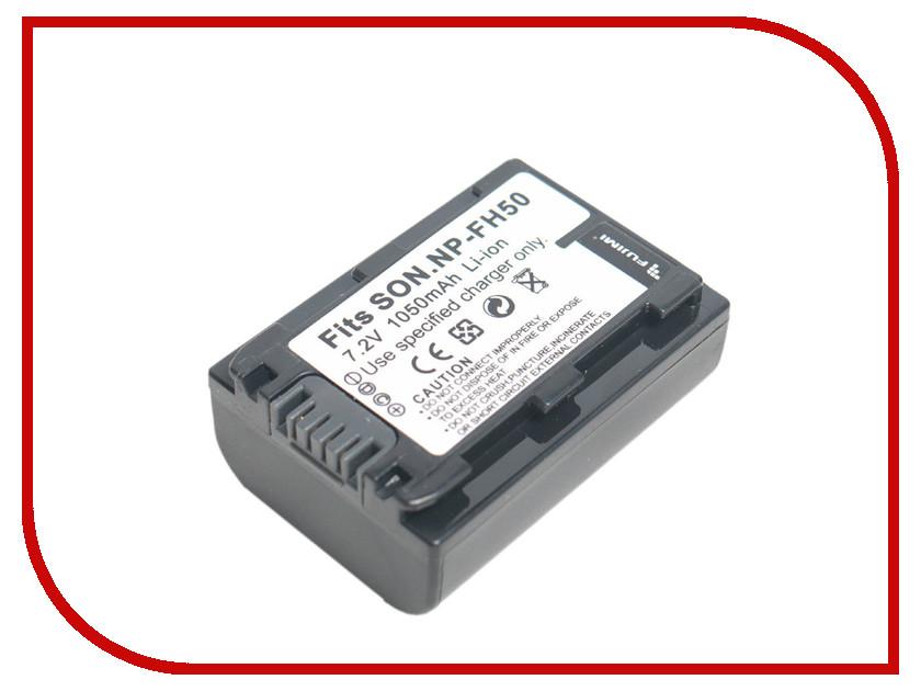 Аккумулятор Fujimi NP-FH50<br>