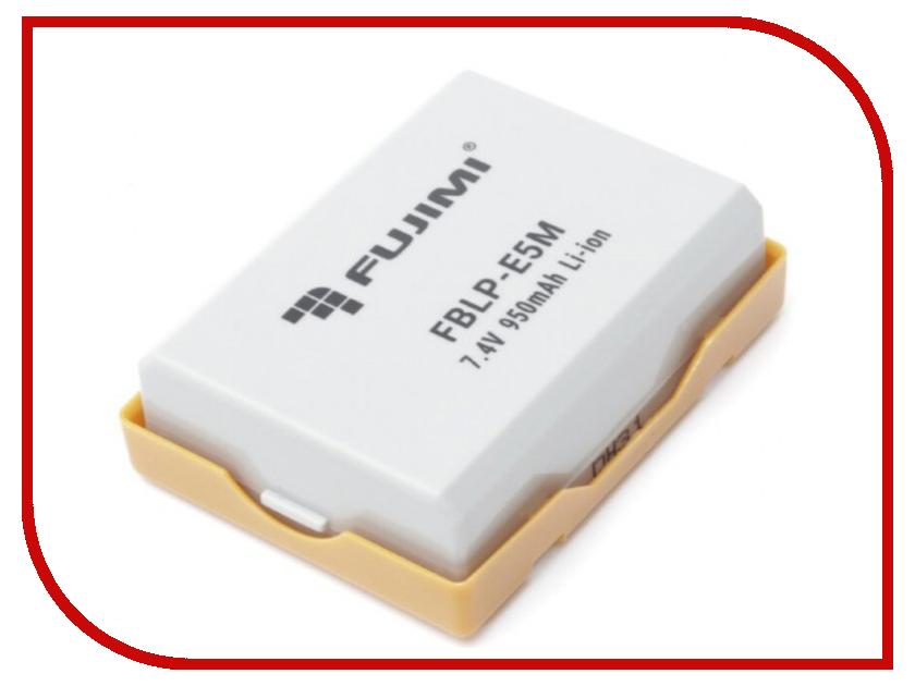 Аккумулятор Fujimi FBLP-E5M аккумулятор fujimi np bk1
