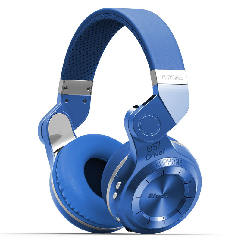 Наушники Bluedio T2 Plus Blue