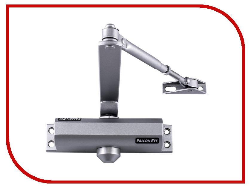 Доводчик дверной Falcon Eye FE-B4W 65-85kg Silver видеодомофон falcon eye fe 43c