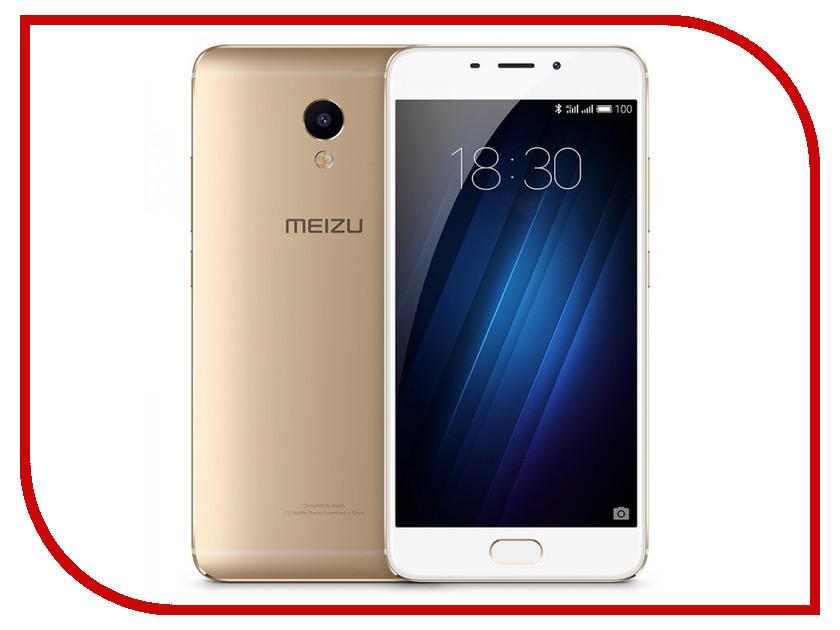 Сотовый телефон Meizu M3E Gold<br>